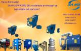 Maquinaria, accesorios y químicos  - Venta Aspiración SANU SRL Nueva Rumania
