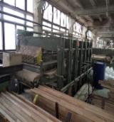Woodworking Machinery - Used Прес Гарячий 1998 Fingerjointing Machine For Sale Ukraine