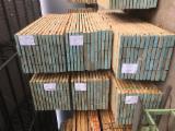 Hardwood  Sawn Timber - Lumber - Planed Timber For Sale - Fresh Oak Beams 50 mm