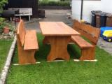 Oak Garden Furniture - Art & Crafts/Mission Oak Garden Sets