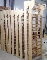 Natural Wood Contract Furniture - Fir Gymnastics Benches / Trellis
