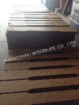 Ahşap Bileşenler, Kalıplar, Kapılar, Pencereler, Ahşap Evler - Asya Ilıman Sert Ağaç, Solid Wood, Bambu