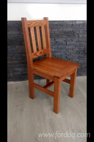 Beau Oak Rustic Restaurant Chairs