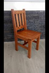 Contract Furniture - Oak Rustic Restaurant Chairs