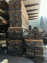 Italy Unedged Timber - Boules - Half-Edged Lebanon Cedar Boards 60/80/100 mm