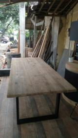 Find best timber supplies on Fordaq - Rectangular Reclaimed Teakwood Furniture Dining Table