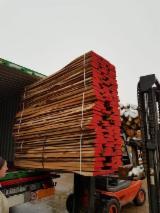 Hardwood  Unedged Timber - Flitches - Boules Demands - KD Beech Light Steamed Loose Timber