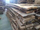 Hardwood  Unedged Timber - Flitches - Boules - Beech Loose Boards 30-50 mm