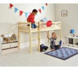 Kids Bedroom Furniture - Modern Pine / Spruce Beds