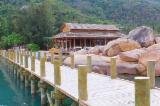 Wooden House - Radiata Pine Glulam Bridge