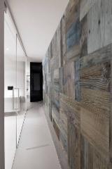 实木, 橡木, 胡桃木, 内墙板