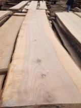 Hardwood  Unedged Timber - Flitches - Boules - ABC Fresh Ash Loose Lumber 26-50 mm