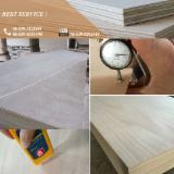 2.7 mm Okoume Veneer Laminated Door Size Plywood