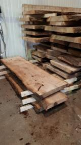 Hardwood  Unedged Timber - Flitches - Boules - Oak Boules 20-120 mm