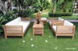 Garden Loungers Garden Furniture - Bamboo Garden Sofas 303