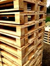 Buy Or Sell Wood One Way Pallet - Any Condition, Spruce One Way Pallets, 129-144 x 800 x 1200 mm