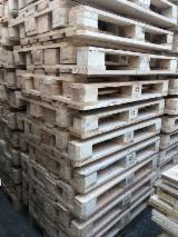 Wood Pallets - Epal Pine Pallets, 144 x 800 x 1200 mm 3sort
