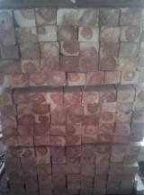 null - Square Logs, Teak
