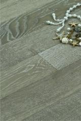 地板及户外板材 亚洲 - 橡木, 木舌和凹槽