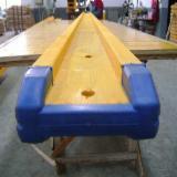 Drewno Iglaste  Drewno Klejone Warstwowo – Elementy Drewniane Łączone Na Mikrowczepy Na Sprzedaż - Belki Dwuteowe, Sosna Kalifornijska
