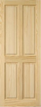 South America Finished Products - Elliotis Pine  Doors Brazil