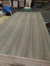 AA Grade Natural Teak Plywood with Eucalyptus Core