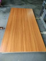 Warm/ Titanium White, Wood Grain/ Solid Color MDF