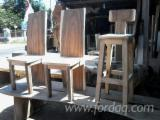 Meubles De Salle À Manger Asie à vendre - Vend Chaise De Salle À Manger Art & Crafts/Mission Feuillus Asiatiques Albizia Falcata, Teak