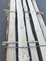 Softwood  Unedged Timber - Flitches - Boules - KD Unedged Loose Pine Planks
