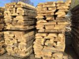 Hardwood  Unedged Timber - Flitches - Boules - Poplar Loose Romania