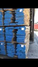 Hardwood  Unedged Timber - Flitches - Boules - White Ash Boules, KD, 26-50 mm thick