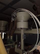 Macchina intestatrice fresatrice foratrice inseritrice mortasatrice marchio FRIULMAC per lavorazione di pannelli lettini, cassetti,antine