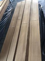 批发木皮 - 采购或销售木皮复合板 - 天然单板, 柚木, 四面的,刨光的