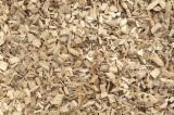 木芯片 – 树皮 – 锯切 – 锯屑 – 刨削 锯木厂生产之木片 榉木, 桦木, 橡木
