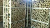 Slovakije levering - Essen Wit Brandhout/Houtblokken Gekloofd