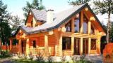 Casă Din Lemn Rotund - Case lemn rotund pentru pretențioși