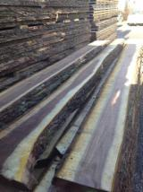 Hardwood  Unedged Timber - Flitches - Boules - Black Walnut Boules, 26-50 mm thick