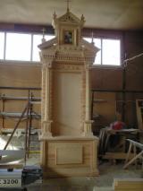 Holzkomponenten, Hobelware, Türen & Fenster, Häuser - Europäisches Laubholz, Massivholz Mit Anderen Endprodukten, Esche , Eiche