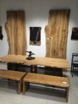 FSC Eiche 40; 50; 90 mm Durchgehende Lamellen Europäisches Laubholz 1 Schicht Massivholzplatten Weißrussland zu Verkaufen
