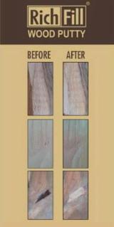 批发经涂饰及处理的木制品 - 填充化合物