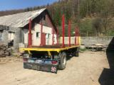 Moving-Floor Trailer - Used WEBER Moving-Floor Trailer Romania
