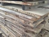 Hardwood  Unedged Timber - Flitches - Boules - Oak unedged AD timber 26mm for sale.
