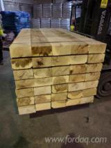 Hardwood  Sawn Timber - Lumber - Planed Timber For Sale - Oak Railway Sleepers, Custom Sizes