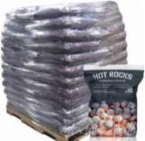 Firewood, Pellets And Residues - Premium Hot Rocks ™ White Ash/ Beech Smokeless Coal