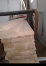 Solid Wood Panels - FSC Beech, Oak 20-30-40-54-70 mm Finger Jointed (Discontinuous Stave) European hardwood from Romania