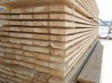 Softwood  Sawn Timber - Lumber For Sale - Edged Pine Sawn Timber, 18-100 mm