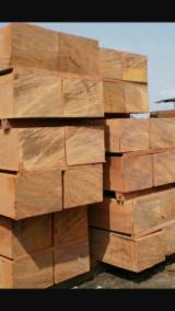 Hardwood Lumber And Sawn Timber - FAS Fresh Cut Sapelli/ Iroko/ Doussie Beams
