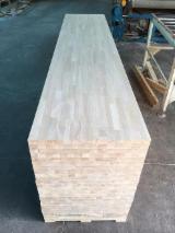 Solid Wood Panels - S2S Rubberwood FJ Panels