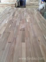 Solid Wood Panels - S2S Acacia 1 Ply FJ Panels