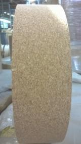 Raw Cork Type Wrapping Veneer Rolls, 0.45 mm